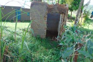 The Water Project: Bukhakunga Community, Wakukha Spring -  Community Latrine