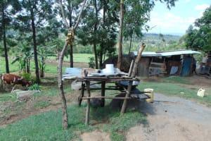 The Water Project: Bukhakunga Community, Wakukha Spring -  Dishrack