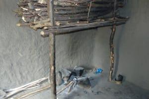 The Water Project: Bukhakunga Community, Wakukha Spring -  Fireplace Inside The Kitchen