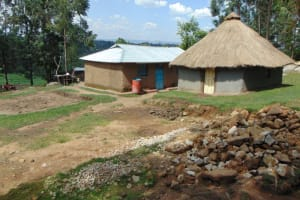 The Water Project: Bukhakunga Community, Wakukha Spring -  Household Compound