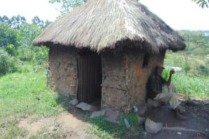 The Water Project: Bukhakunga Community, Wakukha Spring -  Kennedy Outside His House