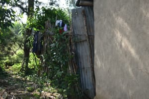 The Water Project: Indulusia Community, Wanyama Spring -  Bathing Room