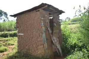 The Water Project: Indulusia Community, Wanyama Spring -  Latrine
