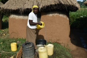 The Water Project: Indulusia Community, Wanyama Spring -  Water Storage