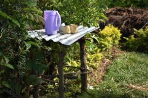 The Water Project: Indulusia Community, Wanyama Spring -  Dishrack