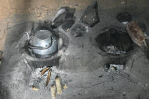 The Water Project: Indulusia Community, Wanyama Spring -  Traditional Stove Inside Kitchen