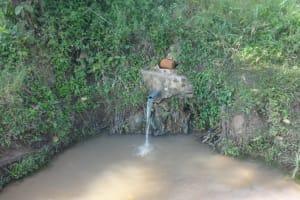 The Water Project: Mahira Community, Mukalama Spring -  Mukalama Spring