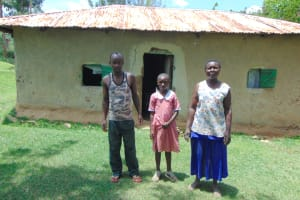 The Water Project: Bukhakunga Community, Maikuva Spring -  Posing Outside Their Home