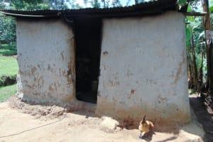 The Water Project: Bukhakunga Community, Maikuva Spring -  Outside The Kitchen