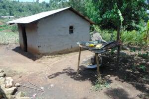 The Water Project: Bukhakunga Community, Maikuva Spring -  Dishrack