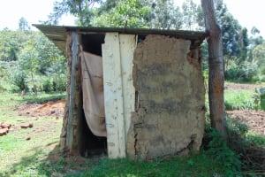 The Water Project: Bukhakunga Community, Maikuva Spring -  Latrine
