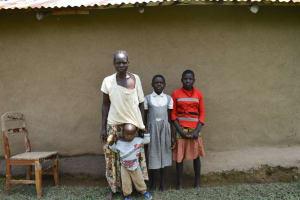 The Water Project: Shamoni Community, Shiundu Spring -  Family Picture