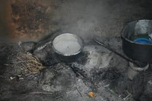 The Water Project: Shamoni Community, Shiundu Spring -  Cook Stove Inside The Kitchen