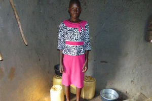 The Water Project: Indulusia Community, Osanya Spring -  Lilian