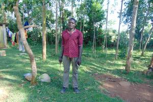 The Water Project: Indulusia Community, Osanya Spring -  Mr Wycliffe Osanya