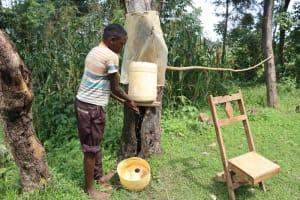 The Water Project: Makhwabuyu Community, Sayia Spring -  Handwashing
