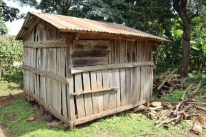 The Water Project: Makhwabuyu Community, Sayia Spring -  Maize Store