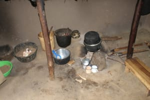 The Water Project: Mayuge Community, Ucheka Spring -  Cooking Area Inside A Kitchen