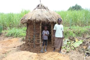 The Water Project: Mayuge Community, Ucheka Spring -  In Front Of Their Latrine