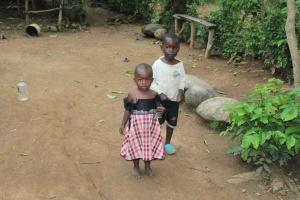 The Water Project: Shibikhwa Community, Musotsi Spring -  Children Playing