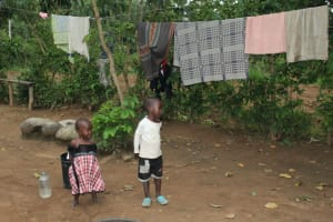 The Water Project: Shibikhwa Community, Musotsi Spring -  Clothes Drying
