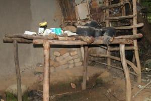 The Water Project: Shibikhwa Community, Musotsi Spring -  Dishrack
