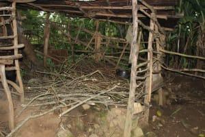 The Water Project: Shibikhwa Community, Musotsi Spring -  Firewood Store