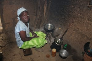 The Water Project: Shibikhwa Community, Musotsi Spring -  Irene Cooking Inside The Kitchen
