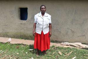 The Water Project: Mukhuyu Community, Gideon Kakai Chelagat Spring -  Jane Kakai