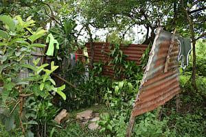 The Water Project: Makale Community, Kwalukhayiro Spring -  Bathing Room Shelter