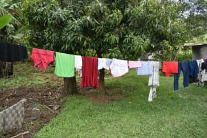 The Water Project: Makale Community, Kwalukhayiro Spring -  Clothesline