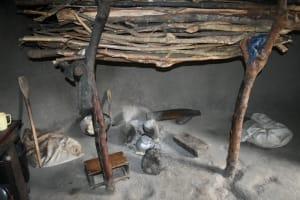 The Water Project: Makale Community, Kwalukhayiro Spring -  Inside Kitchen Fireplace