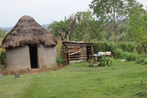 The Water Project: Makale Community, Kwalukhayiro Spring -  Kitchen Area