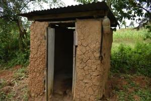 The Water Project: Makale Community, Kwalukhayiro Spring -  Latrine