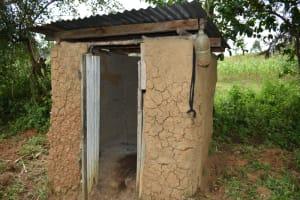 The Water Project: Makale Community, Kwalukhayiro Spring -  Toilet