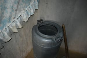 The Water Project: Makale Community, Kwalukhayiro Spring -  Water Storage Container