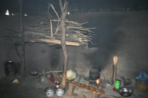 The Water Project: Wepika Community, Musa Mmasi Shikwe Spring -  Traditional Oven And Firewood Store