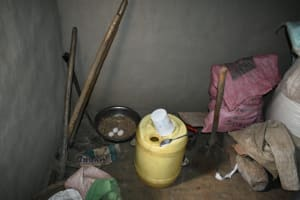 The Water Project: Wepika Community, Musa Mmasi Shikwe Spring -  Chicken Nesting Area