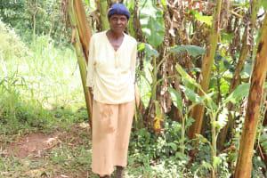 The Water Project: Mukhonje B Community, Peter Yakhama Spring -  Agnes Ben