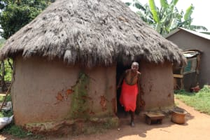 The Water Project: Mukhonje B Community, Peter Yakhama Spring -  Outside The Kitchen