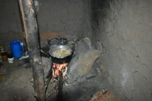 The Water Project: Lunyinya Community, Makunga Spring -  Cooking Food In The Kitchen