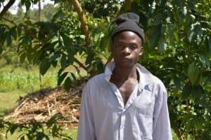 The Water Project: Lunyinya Community, Makunga Spring -  Mr James Nyongesa