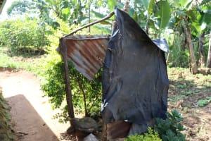 The Water Project: Mwera Community, Mukunga Spring -  Bathing Shelter
