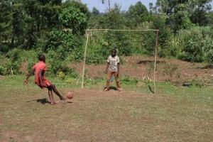 The Water Project: Mwera Community, Mukunga Spring -  Children Playing