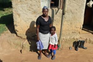 The Water Project: Mwera Community, Mukunga Spring -  Esther Omulindi And Joy