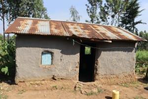 The Water Project: Mwera Community, Mukunga Spring -  Kitchen
