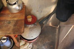 The Water Project: Mwera Community, Mukunga Spring -  Water Storage