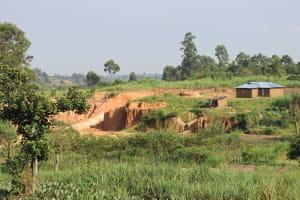 The Water Project: Mwera Community, Mukunga Spring -  Community Landscape