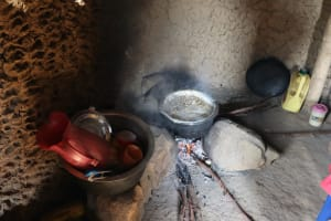 The Water Project: Mwera Community, Mukunga Spring -  Cooking Lunch