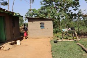 The Water Project: Mwera Community, Mukunga Spring -  Home Compound